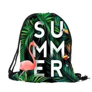 Сумка-мешок для обуви «Фламинго» (summer)