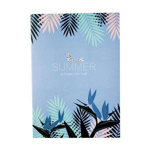 """Тетрадь """"Summer"""", В5 (голубая)"""