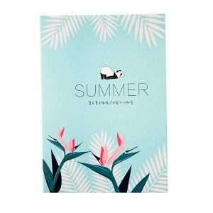 """Тетрадь """"Summer"""", В5 (мятная)"""