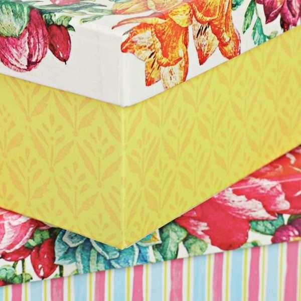 Коробка «Цветы» (11,5 х 6,5 х 4 см)