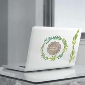 """Наклейки для ноутбуков """"100% ЭКОБУК"""""""