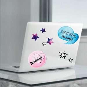 """Наклейки для ноутбуков """"Космос"""""""