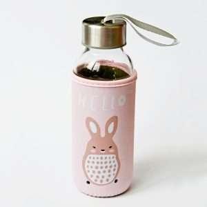 """Бутылка """"Веселые зверята"""" (заяц), 350 мл"""