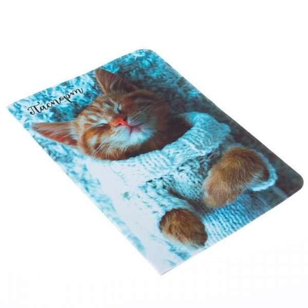 """Обложка для паспорта """"Котёнок"""""""