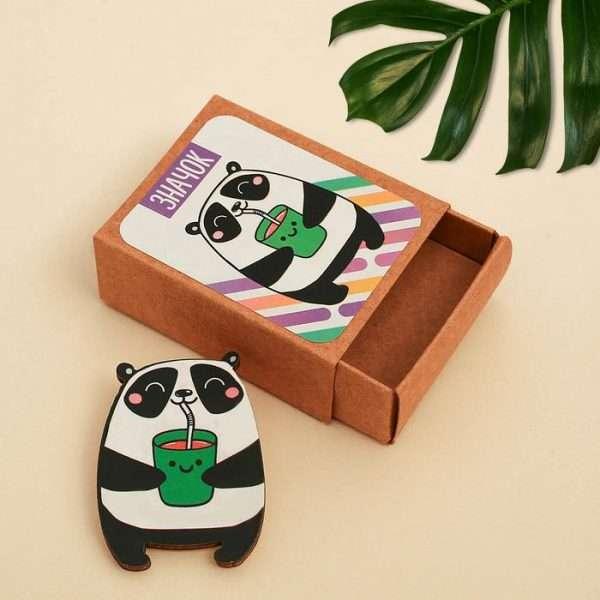 "Значок в коробочке ""Панда"""