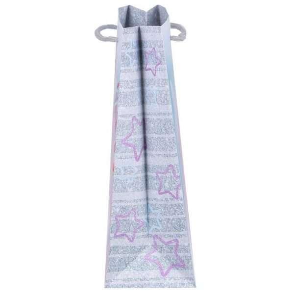 Пакет ламинат вертикальный «Зефирный единорожка»