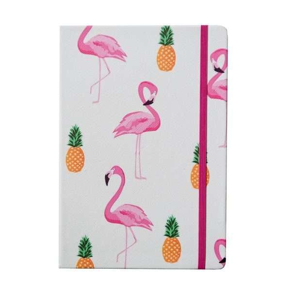 """Блокнот """"Фламинго"""", А5 (белый)"""