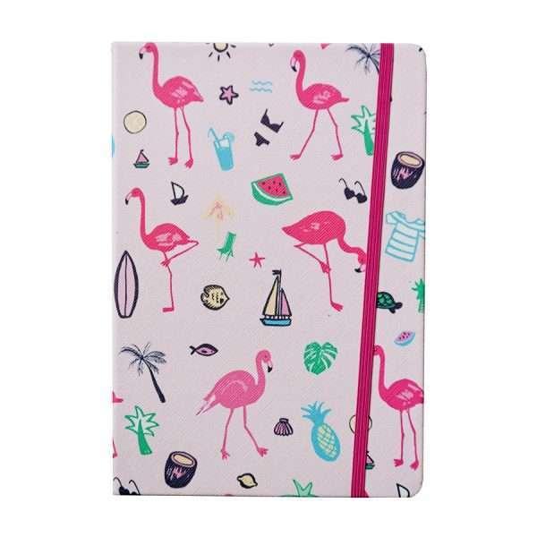 "Блокнот ""Фламинго"", А5 (розовый)"