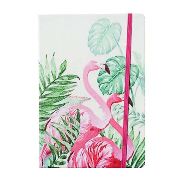 "Блокнот ""Фламинго"", А5 (2 фламинго)"