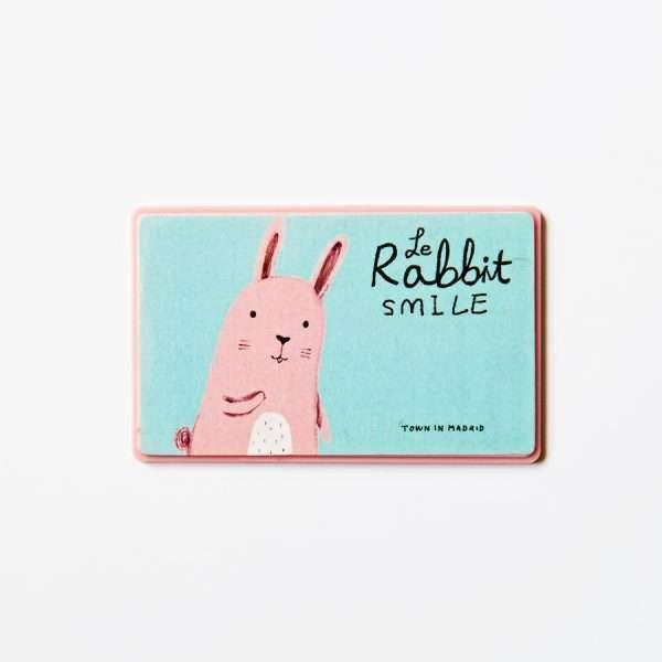 """Калькулятор карманный """"Rabbit"""" (ярко-розовый)"""