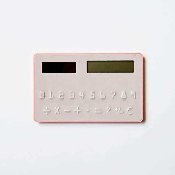 "Калькулятор карманный ""Animal"" (темно-розовый)"