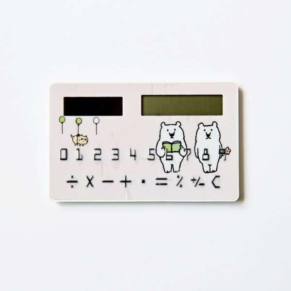 """Калькулятор карманный """"Bear"""" (розовый)"""