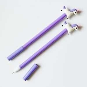 Ручка гелевая «Единорог-2» (сиреневая)