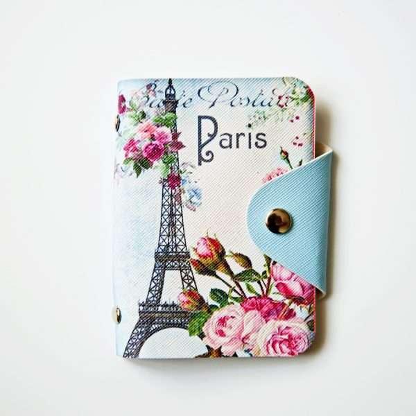 """Обложка для карт """"Paris"""""""