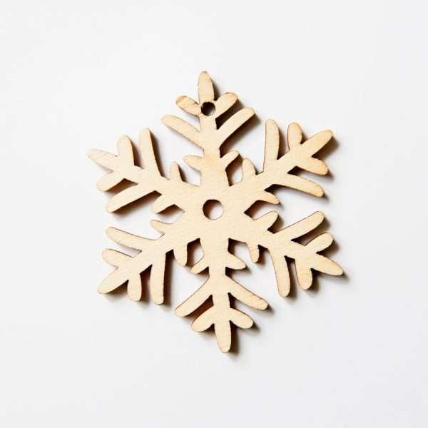 """Подвески под роспись """"Snow"""" (снежинка маленькая)"""