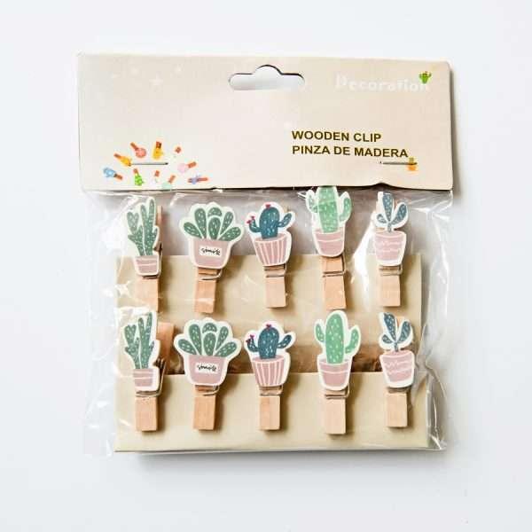 """Прищепки декоративные """"Cactus"""""""