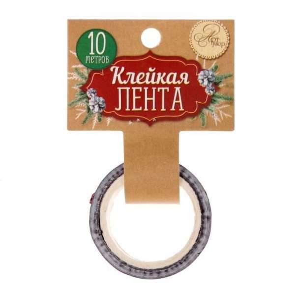 """Скотч декоративный """"С Новым годом"""""""