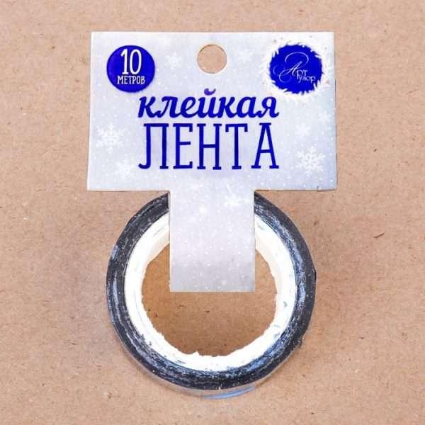 """Скотч декоративный """"Искристые снежинки"""""""