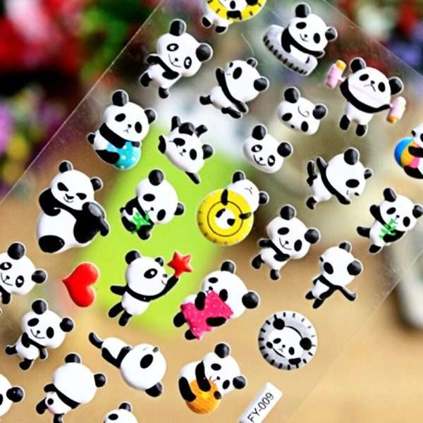 """Наклейки объемные """"Panda"""""""