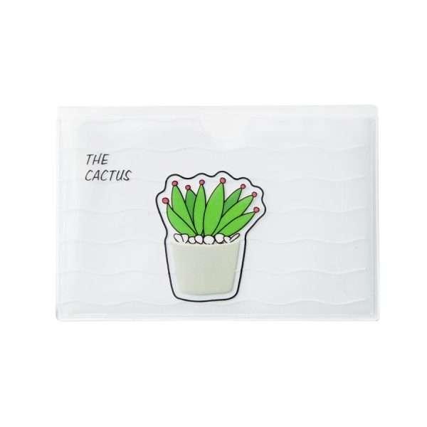 """Обложка для проездного/банковской карты """"Cactus"""" (2)"""