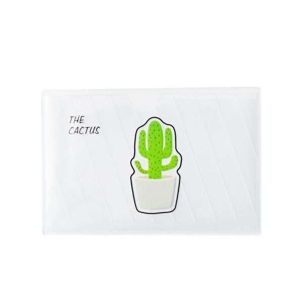 """Обложка для проездного/банковской карты """"Cactus"""" (1)"""