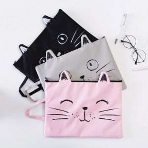 """Папка """"Cat"""" (серая), A4"""