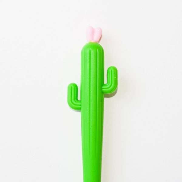 """Ручка гелевая """"Cactus flower"""" (желтая)"""