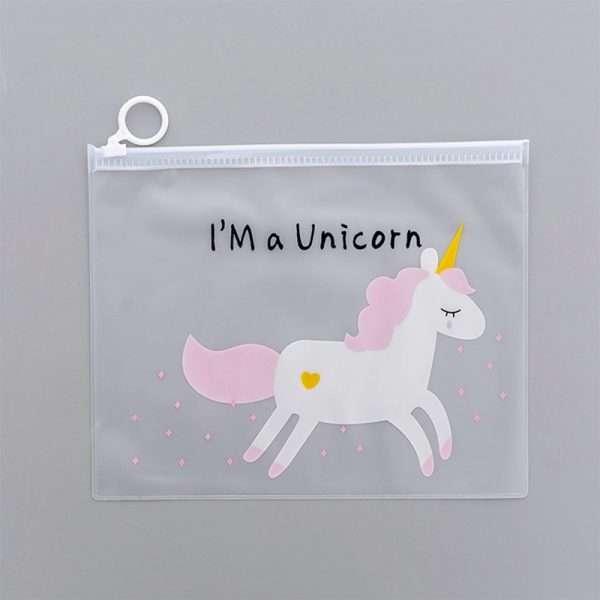 """Папка """"Unicorn"""" (оранжевая), A5"""