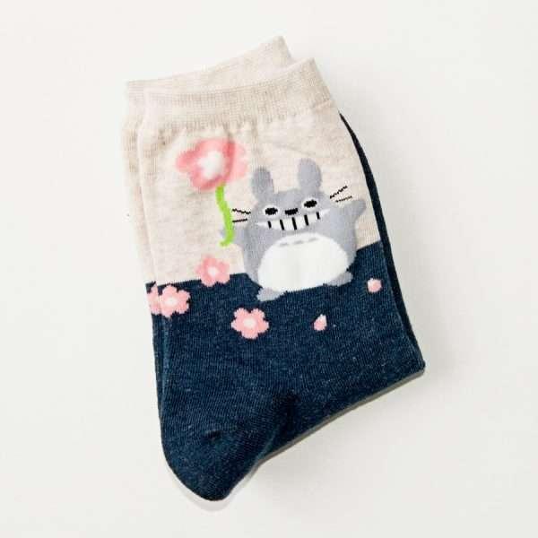 """Носки """"Totoro"""" (синие)"""