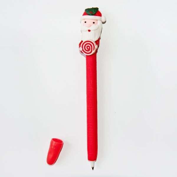 """Ручка шариковая """"Снеговик"""" (с подарком)"""
