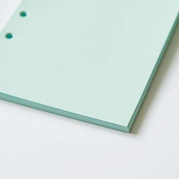 """Сменный блок для органайзера """"Pastel"""", А5 (голубой)"""