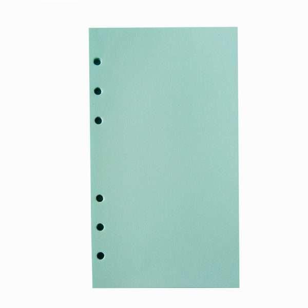 """Сменный блок для органайзера """"Pastel"""", А6 (голубой)"""