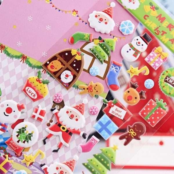 """Наклейки объемные """"Санта Клаус"""" (1)"""