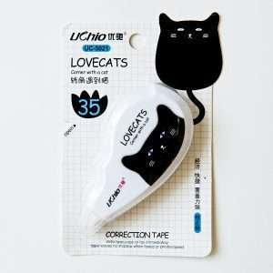 Корректор ленточный «Love cats» (розовый)