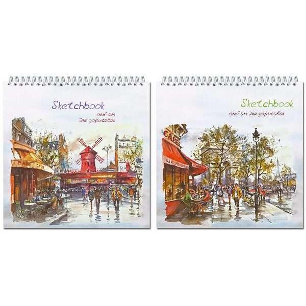 """Альбом для зарисовок """"Sketchbook"""", 19х19см"""