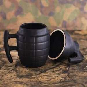 Кружка-граната, 250 мл (черная)