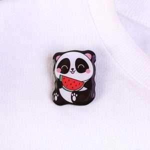 """Значок на липучке """"Панда"""""""