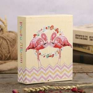 "Фотоальбом ""Фламинго в цветах"""