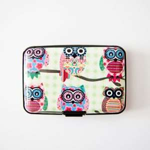 """Обложка-кейс для карт """"Cute owl"""" (сова 2)"""