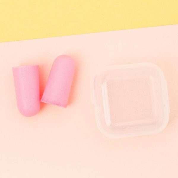 """Набор дорожный """"Розовые сны"""": подушка, маска для сна, беруши"""