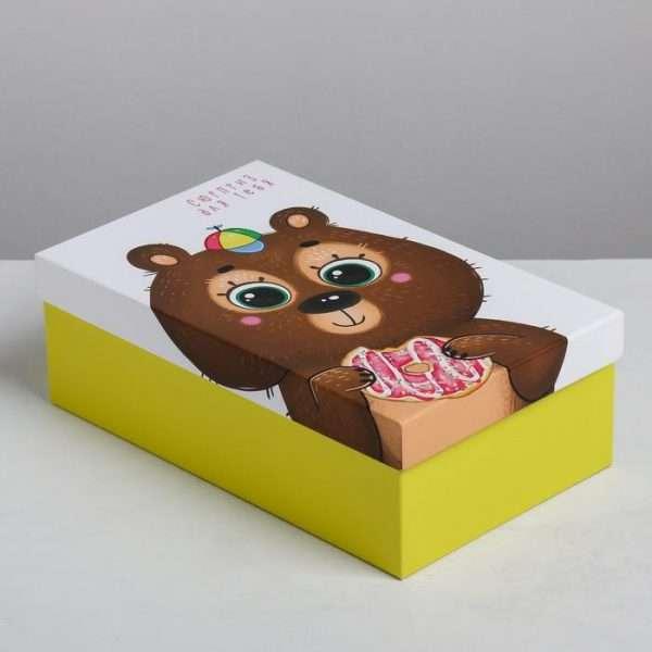 Подарочная коробка «Милые зверята» (22.5 х 12.5 х 7.5 см)