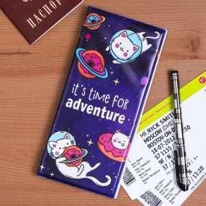 "Конверт для путешествий ""It's time for adventure"""