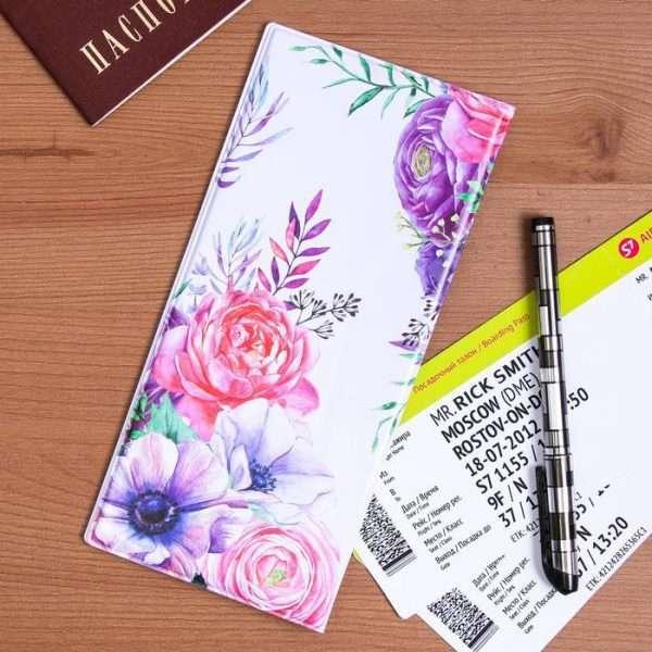 """Конверт для путешествий """"Люби и путешествуй"""""""