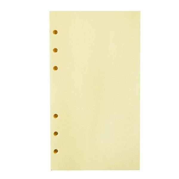 """Сменный блок для органайзера """"Pastel"""", А6 (желтый)"""