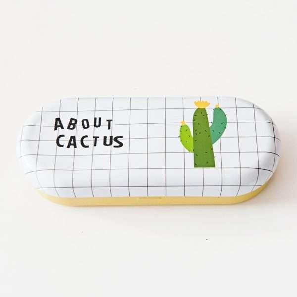"""Футляр для очков """"Cactus"""" (много кактусов)"""