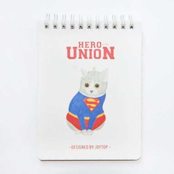 """Блокнот """"Hero of the Union"""" (супермен)"""
