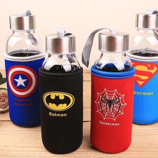 """Бутылка в чехле """"Super Hero"""" (Superman), 300 мл"""