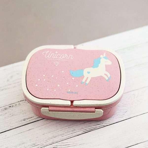 "Ланчбокс ""Unicorn"" (розовый), 500 мл"