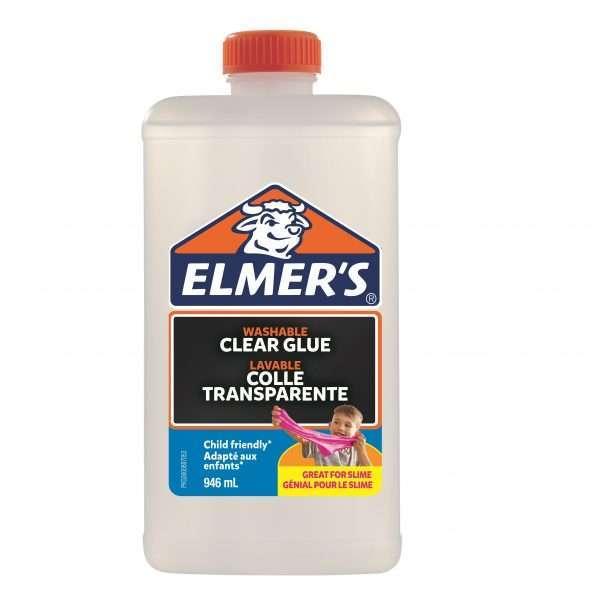 Клей для слаймов Elmer's/Элмерс (прозрачный), 946мл