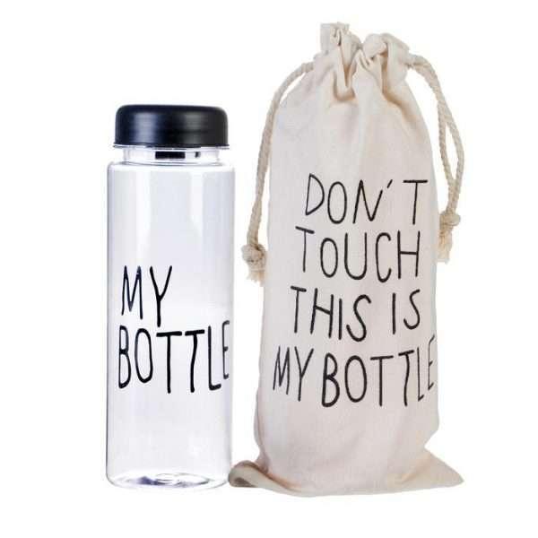 """Бутылка для воды """"My bottle"""" (чёрная)"""